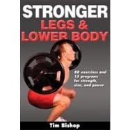 Stronger Legs and Lower Body, 9780736092951