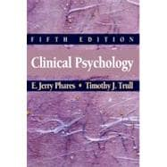 Clinical Psychology, Concepts, Methods, and Profession