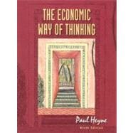 The Economic Way of Thinking,9780130132994