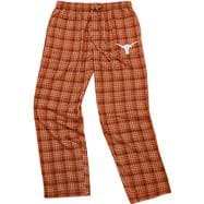 Texas Longhorns Dark Orange Empire Flannel Pants