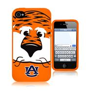 Auburn Tigers 3D Silicone Mascot iPhone 4/4S Case