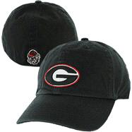 Georgia Bulldogs Black '47 Brand Franchise Fitted Hat