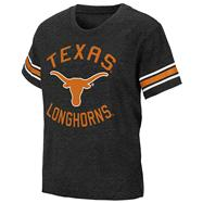Texas Longhorns Black Kids 4-7 Receiver T-Shirt