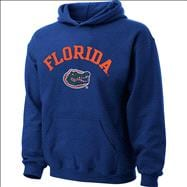 Florida Gators Kids 4-7 Royal Tackle Twill Hooded Sweatshirt
