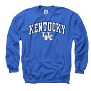 Kentucky Wildcats Youth Royal Perennial II Crewneck Sweatshirt