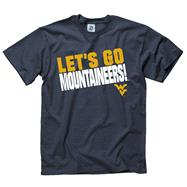 West Virginia Mountaineers Navy Youth Slogan T-Shirt
