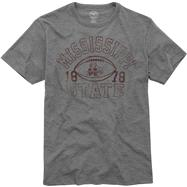 Mississippi State Bulldogs Grey '47 Brand Vintage Scrum Tee