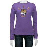 LSU Tigers Women's Gulf Slub Long Sleeve Tee