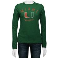 Miami Hurricanes Women's Gulf Slub Long Sleeve Tee