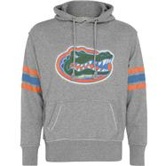 Florida Gators Heather Grey Bolt Pullover Hooded Sweatshirt
