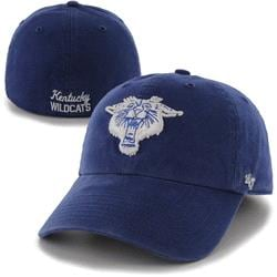 Kentucky Wildcats '47 Brand Franchise Vault Logo Fitted Hat