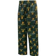 Oregon Ducks Kids 4-7 Green Team Logo Printed Pants