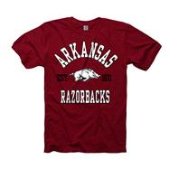 Arkansas Razorbacks Cardinal Every Fan Ring Spun T-Shirt
