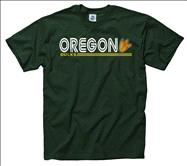 Oregon Ducks Black Retrospective T-Shirt
