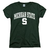 Michigan State Spartans Women's Arch N Mascot T-Shirt