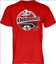Louisville Cardinals 2012 Big East Conference Football Champions Bunt T-Shirt