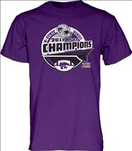 Kansas State Wildcats 2012 Big 12 Conference Football Champions Bunt T-Shirt