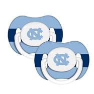 North Carolina Tar Heels Pacifier 2-Pack