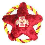 Iowa State Cyclones Star Disk Dog Toy