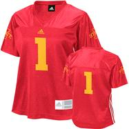 Iowa State Cyclones Women's adidas #1 Fashion Football Jersey
