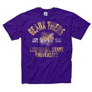 LSU Tigers Purple Trademark T-Shirt
