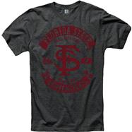 Florida State Seminoles Heathered Black Rockers Ring Spun T-Shirt