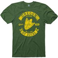 Oregon Ducks Heathered Dark Green Rockers Ring Spun T-Shirt