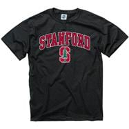 Stanford Cardinal Black Perennial II T-Shirt