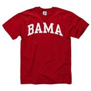 Alabama Crimson Tide Crimson Bama Arch T-Shirt