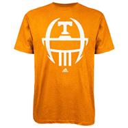 Tennessee Volunteers Light Orange adidas 2012 Football Sideline Helmet T-Shirt