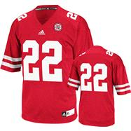Nebraska Cornhuskers Football Jersey: adidas #3 Red Premier Football Jersey