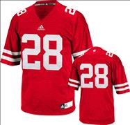Wisconsin Badgers Football Jersey: adidas # Red Premier Football Jersey