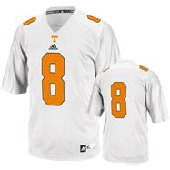 Tennessee Volunteers Football Jersey: adidas # White Replica Football Jersey