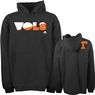 Tennessee Volunteers Grey adidas XL Mascot Name Hooded Sweatshirt