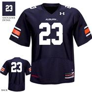 Auburn Tigers 2012 Replica Football Jersey: Youth Navy Under Armour # Replica Football Jersey