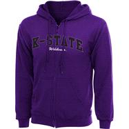 Kansas State Wildcats Women's Purple 2012 PTC Promo Full-Zip Sweatshirt