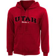 Utah Utes Women's Cardinal PTC Full-Zip Sweatshirt