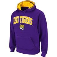 LSU Tigers Purple Twill Tailgate Hooded Sweatshirt