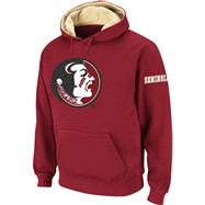 Florida State Seminoles Burgundy Twill Pep Rally Hooded Sweatshirt