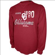 Oklahoma Sooners Charcoal Gamebreaker Long Sleeve Thermal