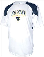 West Virginia Mountaineers Navy Flea Flicker Performance T-Shirt