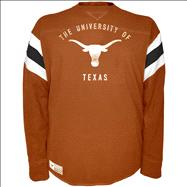 Texas Longhorns Dark Orange Pigskin Power Long Sleeve T-Shirt