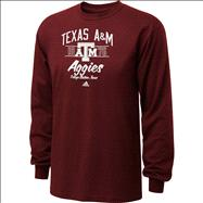 Texas A&M Aggies Maroon adidas Fulfillment Long Sleeve T-Shirt