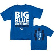 Kentucky Wildcats Royal adidas 2012 NCAA Basketball National Champions Banner Day T-Shirt