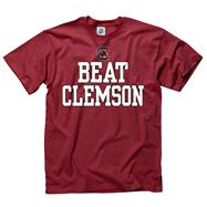 South Carolina Gamecocks Maroon Beat T-Shirt