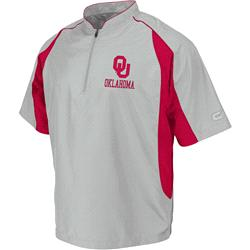 Oklahoma Sooners Stone Sliders Coaches Short Sleeve Pullover