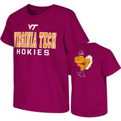 Virginia Tech Hokies Maroon Kids 4-7 Platform Dual-Blend T-Shirt