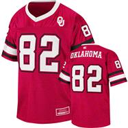 Oklahoma Sooners Youth Cardinal Stadium Football Jersey