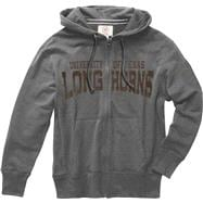 Texas Longhorns Graphite '47 Brand Slugger Full-Zip Hooded Sweatshirt
