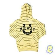 Minnie Striped Pullover Sweatshirt - Banana